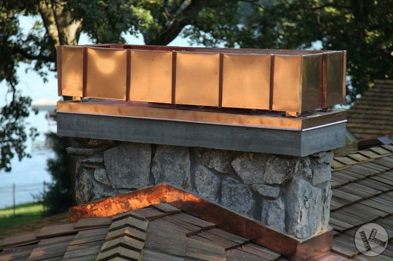Custom Chimney Cap Design